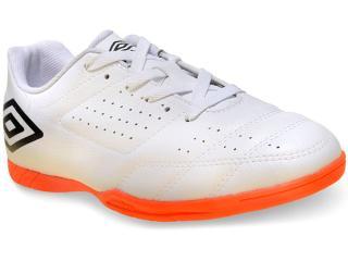 Tênis Masculino Umbro Of72060 16 id Salão Branco/preto/laranja - Tamanho Médio