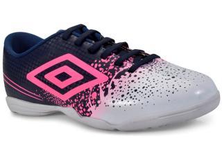 Tênis Feminino Umbro Of72082 720 Indoor Wave  Marinho/branco/rosa - Tamanho Médio