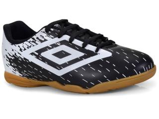36f13f02ef6e5 Tênis Masc Infantil Umbro Of82048 112 Indoor Acid jr Preto/branco