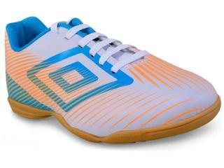 Tênis Masculino Umbro Of72049 236 Speed ii Branco/azul/laranja - Tamanho Médio