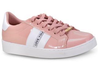Tênis Feminino Vizzano 1214253 Rosa/branco - Tamanho Médio