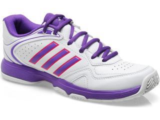 Tênis Feminino Adidas G95371 Ambition Viii Str w Branco/lilas - Tamanho Médio