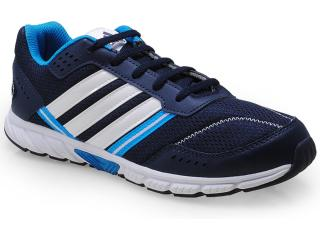 Tênis Masc Infantil Adidas D65306 Afaito lt k Marinho/branco/azul - Tamanho Médio