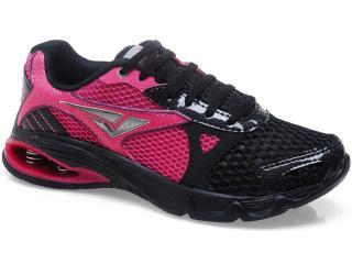 Tênis Feminino Bouts 8026 Pink/preto - Tamanho Médio