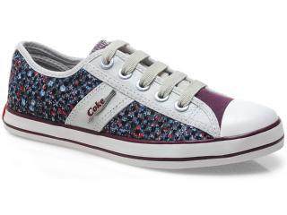 Tênis Feminino Coca-cola Shoes Cc0316 Bordo - Tamanho Médio