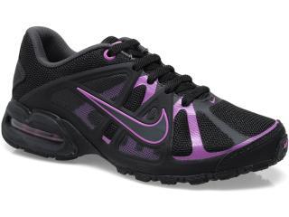 Tênis Feminino Nike 580434-004 Air Max Lte 3 Preto/violeta - Tamanho Médio