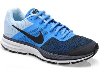 107d471124f40 Tênis Feminino Nike 599392-400 Wmns Air Pegasusu + 30 Marinho azul gelo