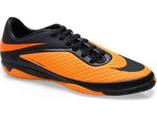 Tênis Masculino Nike 599849-008 Hypervenom Phelon ic Preto/laranja - Tamanho Médio
