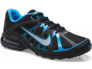 Tênis Masculino Nike 580429-004 Air Max Lte 3 Preto/azul - Tamanho Médio