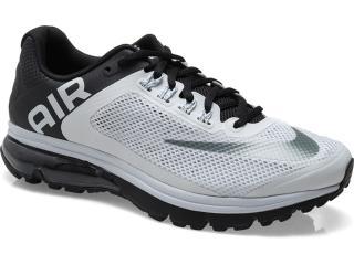 Tênis Masculino Nike 555331-010 Air Max Excellerate +2 Cinza/preto - Tamanho Médio