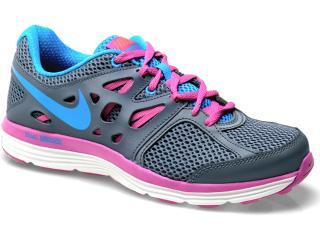 Tênis Feminino Nike 599560-400 Dual Fusion Lite Chumbo/pink/celeste - Tamanho Médio