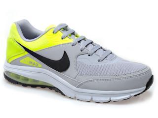 Tênis Masculino Nike 610639-007 Air Max Rebel Cinza/limão - Tamanho Médio