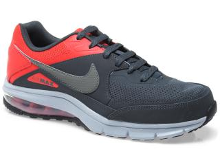 Tênis Masculino Nike 610639-006 Air Max Rebel Chumbo/vermelho - Tamanho Médio
