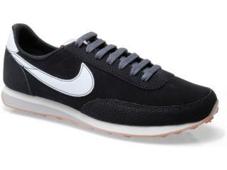 Tênis Masculino Nike 444337-013 Elite Leather si Preto/branco - Tamanho Médio