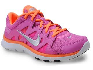 Tênis Feminino Nike 616694-504 Flex Supreme tr ii Rosa/laranja - Tamanho Médio