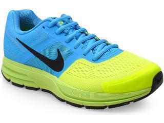 Tênis Masculino Nike Pegas599205-400 Air U30 Azul Clasu +ro/limão - Tamanho Médio
