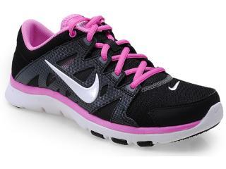 Tênis Feminino Nike 616694-007 Flex Supreme tr ii Preto/lilas - Tamanho Médio