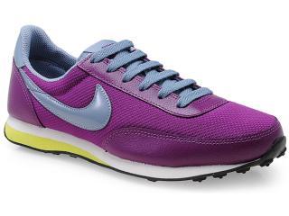 Tênis Feminino Nike 586310-500 Wmns Elite Textile Uva/cinza - Tamanho Médio