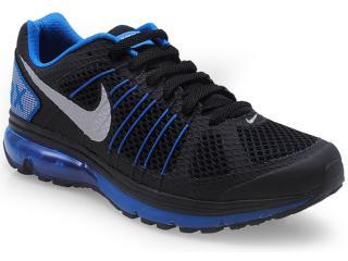 Tênis Masculino Nike 632630-024 Air Max Finale+ 2 Preto/azul - Tamanho Médio