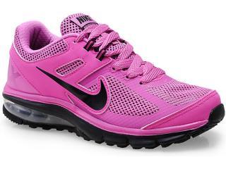 Tênis Feminino Nike 599390-500 Air Max Defy rn Rosa/preto - Tamanho Médio