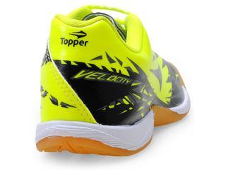 381d01dae7 Tênis Topper 4129382 INDOOR VLC J Verde Neonpreto...