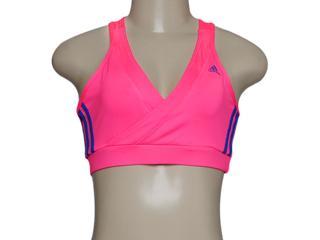 Top Feminino Adidas M37235 Cross Vida wk Pink - Tamanho Médio