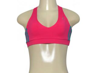 Top Feminino Adidas Az1255 Forma Wkt Pink - Tamanho Médio