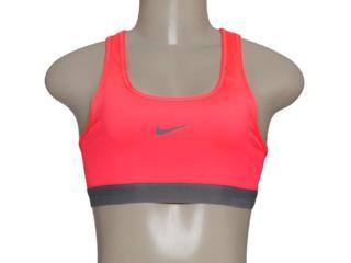 Top Feminino Nike 650831-646 Pro Classsic Rosa Neon - Tamanho Médio
