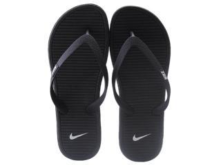 Chinelo Masculino Nike 488160-018 Solarsoft Thong ii  Preto/cinza - Tamanho Médio