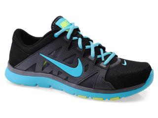 Tênis Feminino Nike 616694-004 Wmns Flex Supreme tr 2 Chumbo/preto/celeste - Tamanho Médio