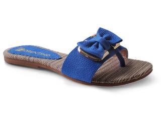 Tamanco Feminino Fiorentino 022 Azul Bic - Tamanho Médio