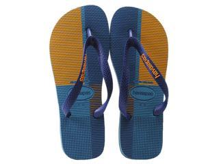 Chinelo Masculino Havaianas Trend Azul Acinzentado - Tamanho Médio