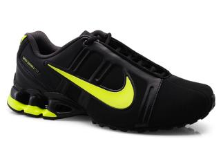Tênis Masculino Nike 558441-004 Impax Contain ii sl Emb Preto/limão - Tamanho Médio
