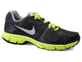 Tênis Masculino Nike 538258-021 Downshifter 5 Msl Preto/limão - Tamanho Médio