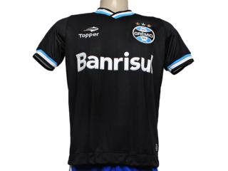 Camiseta Masculina C2085m Grêmio Iii 2013 Preto - Tamanho Médio