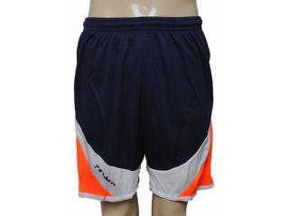 Calçao Masculino Poker 03134 Marinho/branco/laranja - Tamanho Médio