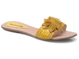 Tamanco Feminino Tharsily 103 Amarelo - Tamanho Médio
