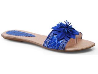 Tamanco Feminino Tharsily 103 Azul - Tamanho Médio