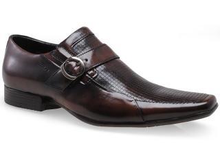 Sapato Masculino Ferracini 5969 Prince Café - Tamanho Médio