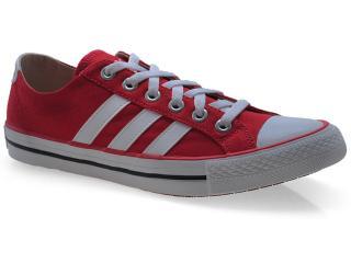 Tênis Masculino Adidas Q38687 Vlneo 3 Strip Vermelho/branco - Tamanho Médio