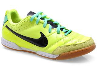 Tênis Masc Infantil Nike 509082-703 jr Tiempo Natural iv Ltr ic Limão preto 710ab96ff302b