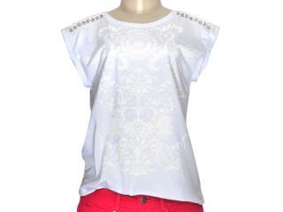 Blusa Feminina Dzarm 6jt5 Noa10 Branco - Tamanho Médio