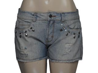 Short Feminino Dzarm Z6z6 Sn565z Jeans - Tamanho Médio