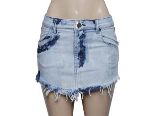 Saia Feminina Coca-cola Clothing 83200472 Jeans. - Tamanho Médio