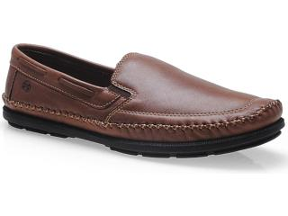 Sapato Masculino Ferricelli Ib14915 Tabaco - Tamanho Médio