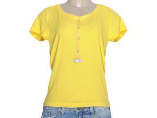Blusa Feminina Moikana 11166 Amarelo - Tamanho Médio