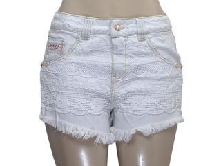 Short Feminino Moikana 11881 Jeans Claro - Tamanho Médio