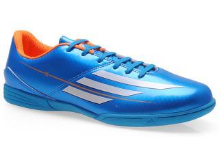 Tênis Masculino Adidas F32739 f5 in Celeste/laranja - Tamanho Médio