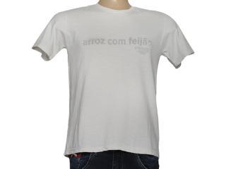 Camiseta Masculina Cavalera Clothing 01.01.7219 Gelo - Tamanho Médio