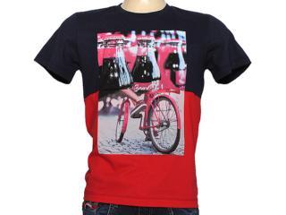 Camiseta Masculina Coca-cola Clothing 353203679 Marinho - Tamanho Médio